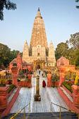Mahabodhy tempel, bodhgaya, india. — Stockfoto