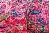 Rybářské sítě. — Stock fotografie