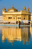 Golden Temple in Amritsar, Punjab, India. — Foto de Stock