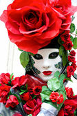Rose Mask, Carnival. — Stock Photo