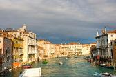 Venice, View from Rialto Bridge. — Stock Photo
