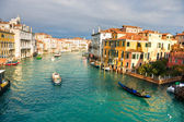 Venice, View from Rialto Bridge. — Stock Photo