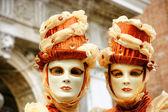 Máscara de veneza, carnaval. — Foto Stock