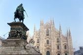 ミラノのドゥオーモ — ストック写真