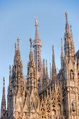 Duomo in Milan, Italy. — Stock Photo
