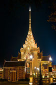 The Temple built for the Kings sisther funeral, Bangkok, Thailand. — Stock Photo