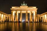 Braniborská brána, berlin, německo. — Stock fotografie