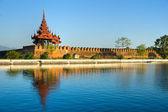 Mandalay fort, Myanmar. — Stock Photo