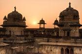 Orcha Palace at sunset, India. — Stock Photo