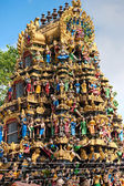 Hindu Temple, Yangoon, Myanmar. — Stock Photo
