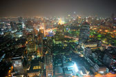 Night view of Bangkok, Thailand. — Stock Photo