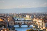 Panoramiczny widok z florencji. — Zdjęcie stockowe