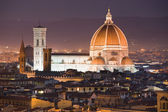 Florence, Duomo and Giotto's Campanile. — Stock Photo
