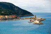 View of Marciana Marina, Isle of Elba, Livorno, Italy. — Foto de Stock