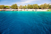 Beautiful sea at Gili Trawangan, Indonesia. — Stock Photo