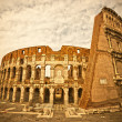 The Majestic Coliseum, Rome, Italy. - ストック写真