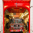 Stock Photo: NEW YORK -MARCH 29: New York Fire Department Engine 14. FDNY