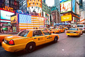 New york city -march 25: times square, presenterade med broadway th — Stockfoto
