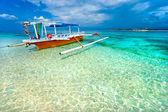 Beautiful sea at Gili Meno, Indonesia. — Stock Photo