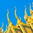 Royal palace in Cambodias capital Phnom Penh — Stock Photo #17409307