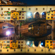 Ponte Vecchio at night, Florence. — Stock Photo #17409597