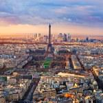 Paris at sunset — Stock Photo #17409715