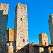 View of San Gimignano, Tuscany, Italy - Stock Photo