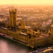 The Big Ben and the Houses of Parliament, London, UK — Stok fotoğraf #17409903