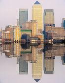 Canary Wharf, London, UK — Stock Photo