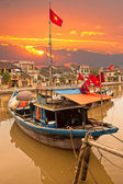 View on the old town of Hoi An. Vietnam — Stock Photo