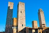 Vue de san gimignano, toscane, italie — Photo