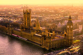 The Big Ben and the Houses of Parliament, London, UK — Stock Photo