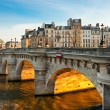 Stock Photo: Pont neuf, Ile de lCite, Paris - France