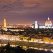 Florence at night, Italy. — Stock Photo #20301793