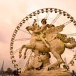Place de la Concorde, Paris - France — Stock Photo