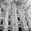 Duomo of Milan, (Milan Cathedral), Italy. — Stock Photo