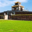 Stock Photo: Entrance of Citadel, Hue, Vietnam.