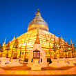 Shwezigon Paya, Bagan, Myanmar. - Stock Photo