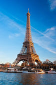 Eiffel tower, Paris. — Stock Photo