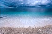 Capo Bianco beach, Elba island. — Stock Photo