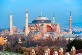 Hagia Sophia mosque, Istanbul, Turkey. — Stock Photo