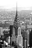 NEW YORK CITY - MARCH 24: The Chrysler building was the world's — Stock Photo