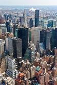 Manhattan, new york city. é.-u. — Photo