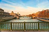 Palais de Justice, Ile de la Cite, Paris - France — Stock Photo