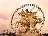 Place de la Concorde, Paris - France — Zdjęcie stockowe