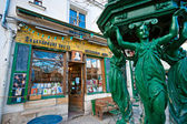PARIS-DECEMBER 11: The Shakespeare and Co. bookstore on December — Stock Photo