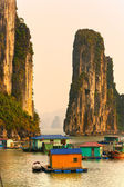 越南的下龙湾。教科文组织世界遗产站点. — 图库照片