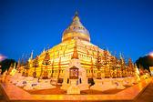 Shwezigon paya, bagan, myanmar. — Stockfoto