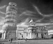 Pisa, campo dei miracoli. — Fotografia Stock