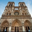 Notre dame de Paris, France. — Stock Photo